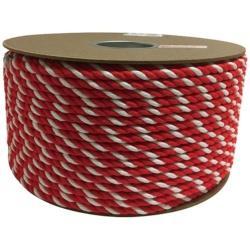 ユタカメイク ユタカ アクリル紅白ロープ 9mmm×150m PRZ-55 PRZ55