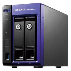IO DATA(アイオーデータ) Windows Server IoT 2019 for Storage Workgroup/Celeron搭載2ドライブNAS 8TB HDL2-Z19WCA-8 HDL2Z19WCA8