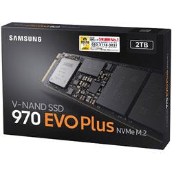 SAMSUNG(サムスン) SSD 970 EVO Plus MZ-V7S2T0B/IT (SSD/M.2 2280/2TB) MZV7S2T0BIT