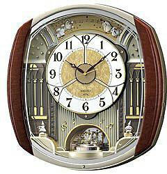 SEIKO 電波からくり時計 「ウェーブシンフォニー」 RE564H RE564H [振込不可]