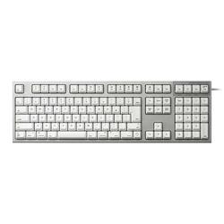東プレ REALFORCE R2 SA for Mac / R2SA-JP3M-WH 有線キーボード 静音/APC機能[USB・ALL30g・Mac標準日本語配列(JIS)114キー] 静電容量無接点方式(ホワイト) R2SAJP3MWH