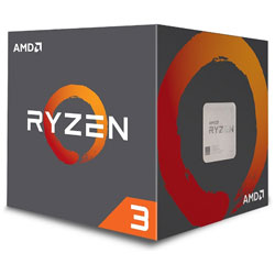 AMD(エーエムディー) 〔CPU〕 AMD Ryzen 3 3100 With Wraith Stealth cooler (4C8T,3.6GHz,65W)  100-100000284BOX 100-100000284BOX