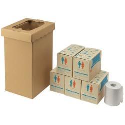 400-785 sanwa 三和製作所 400785 くるくるトイレ100回分 非常用トイレ袋