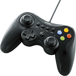 ELECOM エレコム JC-U3613MBK バーゲンセール USBゲームパッド 13ボタンタイプ デジタル アナログ対応 JCU3613MBK ブラック 希少