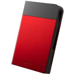 BUFFALO(バッファロー) HD-PZN1.0U3-R 外付けHDD MiniStation HD-PZNU3シリーズ レッド [ポータブル型 /1TB] HDPZN1.0U3R