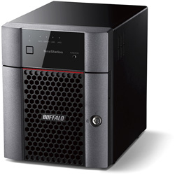 BUFFALO(バッファロー) TS3410DN0804 テラステーション 小規模オフィス・SOHO向け4ドライブNAS HDD [8TB] TS3410DN0804 [振込不可]