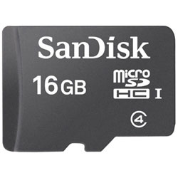 SanDisk サンディスク マーケティング 16GB Class4対応microSDHCカード マイクロSD SDSDQ016GJ35U SDSDQ-016G-J35U SDHC変換アダプタ付 待望