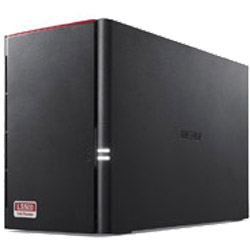 BUFFALO(バッファロー) Link Station LS520D0202G ネットワークHDD[2ベイ/2TB] LS520DGシリーズ LS520D0202G