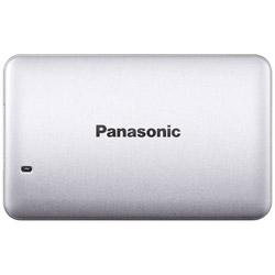 Panasonic(パナソニック) RP-SUD256P3 ポータブルSSD 256GB[USB 3.1・Win] シルバー RPSUD256P3