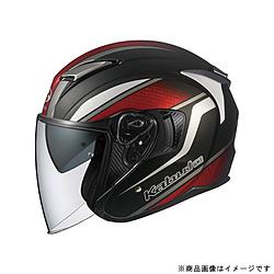 オージーケーカブト 584566 ジェットヘルメット EXCEED DEUCE XL フラットブラック 584566