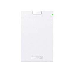BUFFALO(バッファロー) HD-PGAC2U3-WA 外付けHDD パソコン用 ホワイト [ポータブル型 /2TB] HDPGAC2U3WA