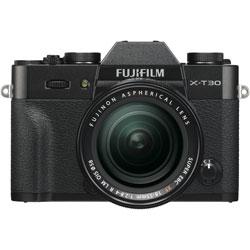 FUJIFILM(フジフイルム) X-T30-B ミラーレス一眼カメラ XF18-55mmレンズキット ブラック [ズームレンズ] FXT30LKB