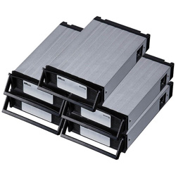 RATOC(ラトックシステム) REX-SATA3 シリーズ用 交換トレイ(5個入り・ブラック) SA3-TR5-BKX SA3TR5BKX [振込不可]