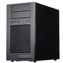 Silver Stone SST-TJ08B-E (Micro-ATX/Mini-ITXケース/電源別売り/ブラック) SSTTJ08BE