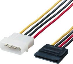 『4年保証』 別倉庫からの配送 ELECOM エレコム CFD-SAT2P05 シリアルATA電源変換ケーブル CFDSAT2P05 0.5M
