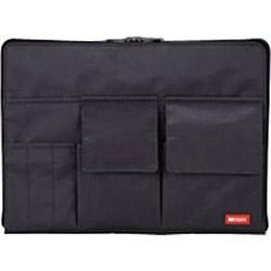 リヒトラブ バッグインバッグ 高品質新品 A4 奉呈 A755424 黒 A-7554-24