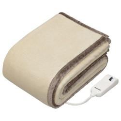 【在庫限り】 Panasonic(パナソニック) 電気かけ・しき毛布 (188×137cm) DB-RM3M-C ベージュ DBRM3M [振込不可]