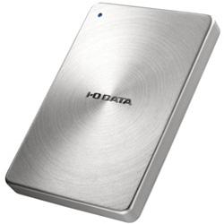 IO DATA(アイオーデータ) ポータブルHDD [USB3.0・2TB] HDPX-UTAシリーズ「カクうす」 (シルバー) HDPX-UTA2.0S HDPXUTA2.0S [振込不可]
