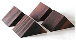 山本音響工芸 激安通販専門店 PB-22 黒檀製三角ベース PB22 お値打ち価格で 4個一組