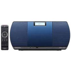 KENWOOD(ケンウッド) ミニコンポ(ブルー) CR-D3-L 【ワイドFM対応】 CRD3L