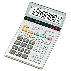 SHARP(シャープ) EL-N862-X ナイスサイズタイプ電卓 (12桁) ELN862X