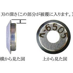 リンガー 東京アイデアル IDEAL K-6498 替刃 K6498