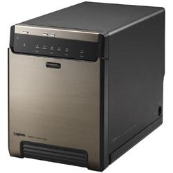 ELECOM(エレコム) LGB-4BNHUC HDD/SSDケース USB-C 3.2接続 ブラック [SATA /4台 /3.5インチ&2.5インチ対応] LGB4BNHUC