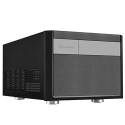 Silver Stone SST-SG11B (Micro-ATX/Mini-ITXケース/電源別売り/ブラック) SSTSG11B