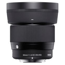 SIGMA(シグマ) カメラレンズ 56mm F1.4 DC DN Contemporary【マイクロフォーサーズマウント】 56mmF1.4DCDN(C) [マイクロフォーサーズ /単焦点レンズ] 56MMF1.4DCDNC