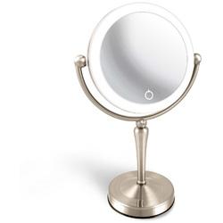 アイキャッチ LEDライト付両面鏡 Z型 「真実の鏡Luxe」 EC005ZLXAC-5X EC005ZLXAC5X [振込不可]
