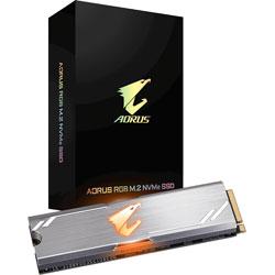 GIGABYTE(ギガバイト) GIGABYTE AORUS RGB M.2 NVMe SSD 512GB GP-ASM2NE2512GTTDR (SSD/M.2 2280/512GB) GPASM2NE2512GTTDR