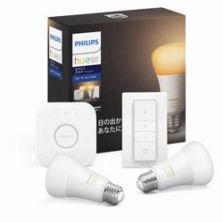 PHILIPS(フィリップス) Philips Hue ホワイトグラデーション スターターセット Bluetooth +Zigbee PLH23GS PLH23GS