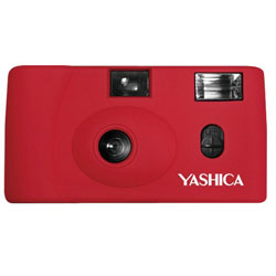 YASHICA 【フィルムカメラ】YASHICA MF-1 Camera Red with Yashica 400 レッド MF1 [振込不可]