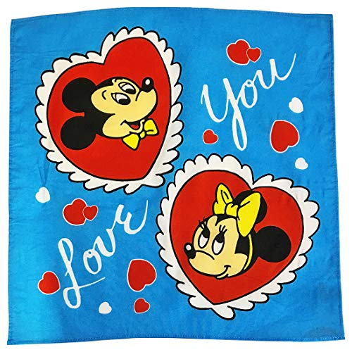 ディズニー ノスタルジカ バンダナ I love you APDS3943N ディズニー バンダナアイラブユー ノスタルジカ ミッキーフレンズ ミッキーマウス ミニーマウス apds3943n スモール・プラネット