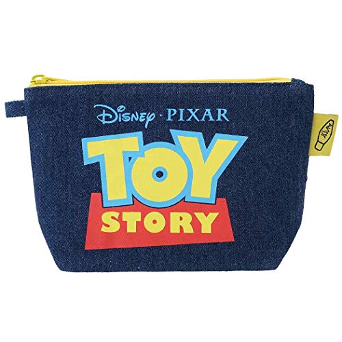 大決算セール ディズニー ピクサー レビューを書けば送料当店負担 デニムグッディポーチ トイストーリー ロゴ