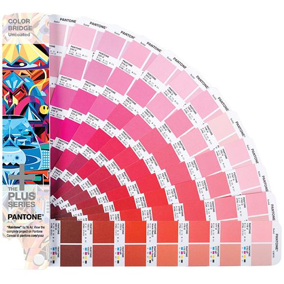 彩通 (Pantone) 加上彩色桥和高质量的文件