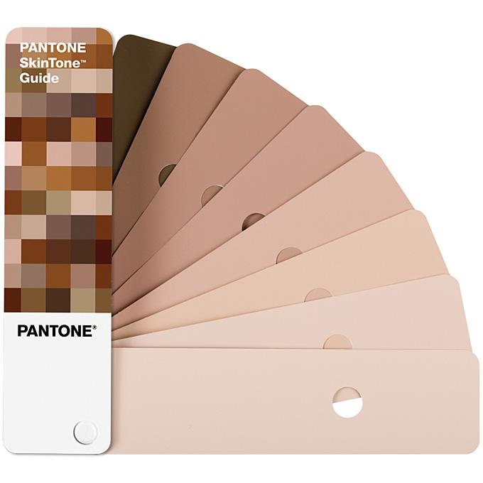彩通 PANTONE) 皮肤色调指南颜色色板