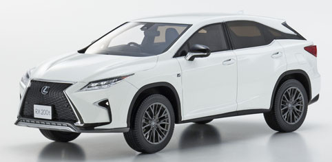 Kyosho 京商 1:18 2015年モデル レクサス RX 200t F スポーツ2015 Lexus RX 200t F Sport 1/18 by Kyosho
