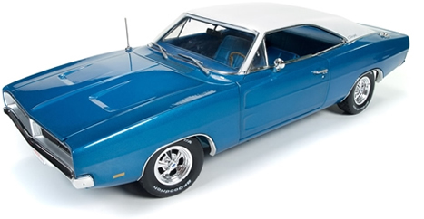 Autoworld オートワールド 1:18 1969年 ダッジ チャージャー ブルー1969 Dodge Charger Hemmings Muscle Machines 1/18 Diecast Model Car by Autoworld