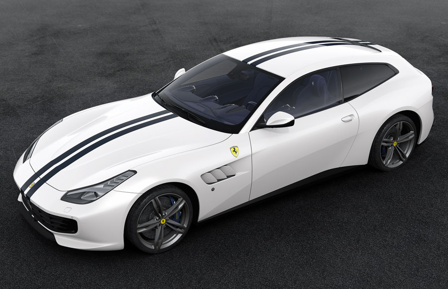 Limited model car 09 of the 70th anniversary of Amalgam Collection 1:18  Ferrari bucking horse birth  The White Spider inspired by 1953 Ferrari 375  MM