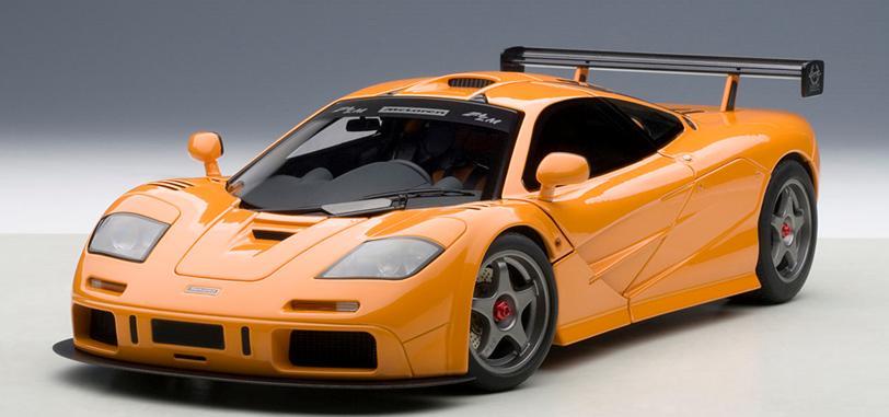 1995年モデル マクラーレン F1 LM オレンジ1995 McLaren F1 LM 1/18 by AUTOart