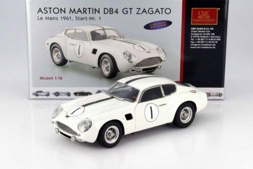 CMC 1/18 1961年ルマン・24時間 アストンマーチン DB4 GT Zagato No.1Aston Martin DB4 GT Zagato No.1 24h LeMans 1961 Kerguen, Dewes 1:18 CMC