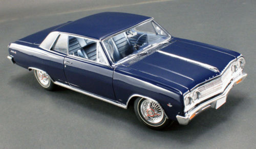 ACME 1965年モデル シボレー シェヴェル マリブ SS L79 1965 Chevrolet Chevelle Malibu SS L79 by Acme in 1:18 Scale