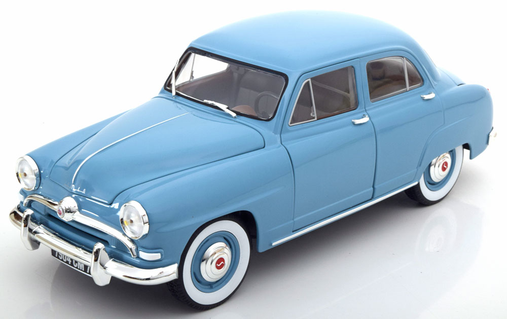Norev 1:18 1954年モデル シムカ 9 アロンド ブルー1954 Simca 9 Aronde 1/18 blue by Norev