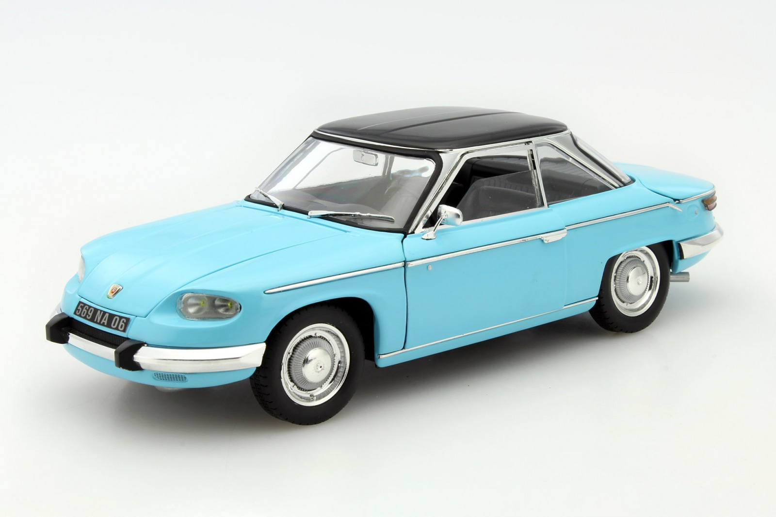 Norev ノレヴ 1:18 1964年モデル パナール 24CT クーペ ブルーNOREV - 1/18 - PANHARD - 24CT COUPE 1964