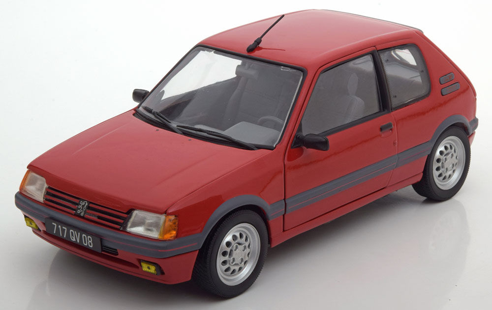 Norev ノレヴ 1:18 1988年モデル プジョー 205 1.6 GTi レッドPEUGEOT - 205 1.6 GTi 19881/18 赤 by Norev