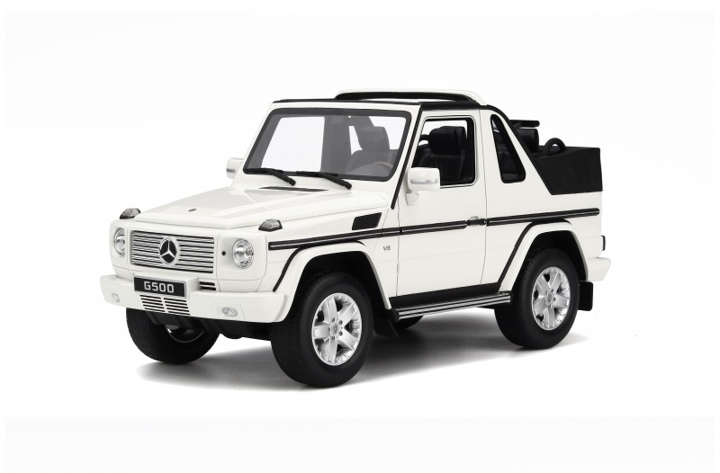 OttO Mobile オットモビル 1:18 2007年モデル メルセデスベンツ G クラス カプリオレMERCEDES BENZ - G-CLASS W460 230 GE CABRIOLET OPEN 2007 1/18 by OttOmobile