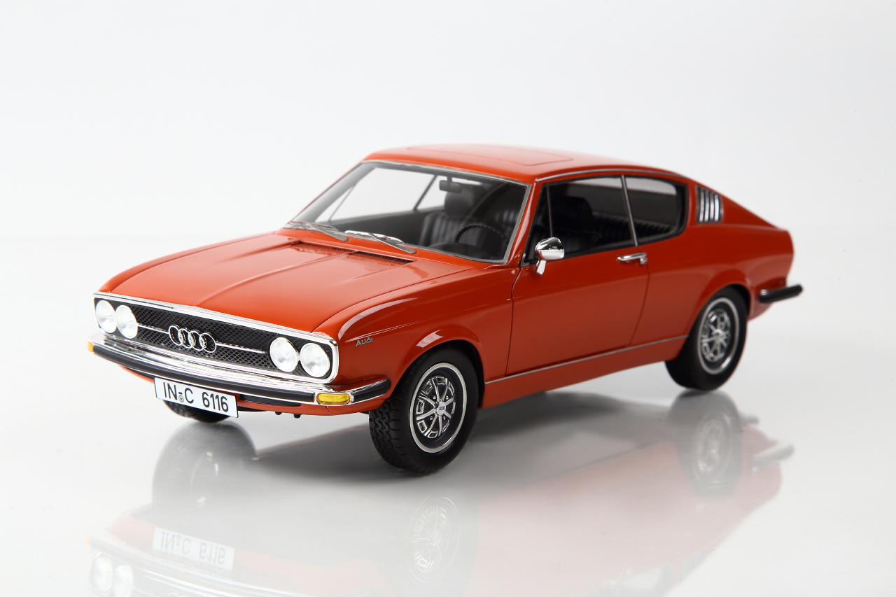KK Scale 1:18 1971年モデル アウディ 100 クーペ S1971 Audi 100 Coupe S 1/18 by KK Scale