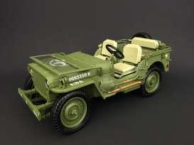 Tripple9 1:18 1944年モデル ウィリス 1/4トン アメリカ陸軍 ジープ