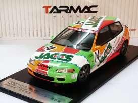 Tarmac ターマック 1:18 1993年 EG6 Gr.A1993 Honda Civic EG6 1/18 by Tarmac Works